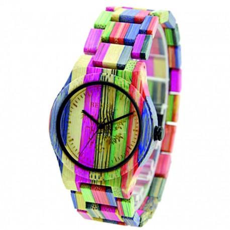 Dřevěné náramkové hodinky z přírodních materiálů. Dřevěné hodinky pro muže i ženu.