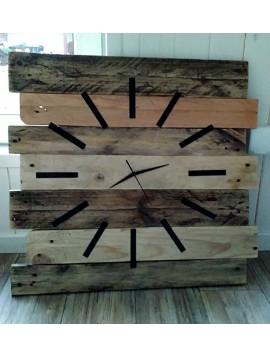 Dřevěné hodiny na zeď, hodinky dřevěné jako dárek, Hodiny - Handmade bydlení, šperky,