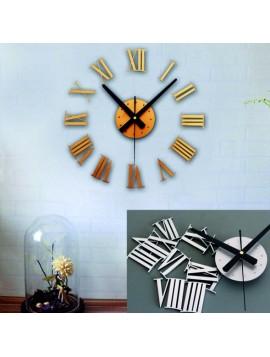 Nalepovací nástěnné hodiny římské plastové PMMA, plexisklo GLADORF