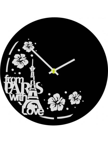 Nástěnné hodiny vyrobené z vinylové gramofonové desky, dětské hodiny, design hodiny