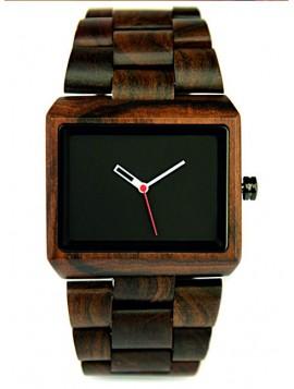 READER Dřevěné náramkové hodinky tmavé hnědé DH006 EPIS