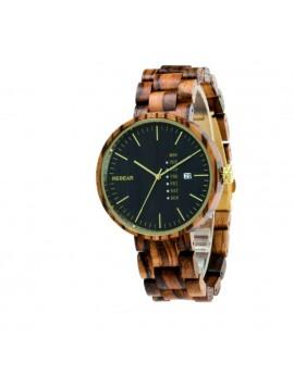 READER Dámské hodinky na ruku dřevěné MILANO DH010 zebra