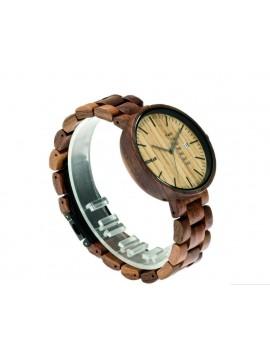 READER hodinky na ruku dřevěné LONDON DH010 hnědé