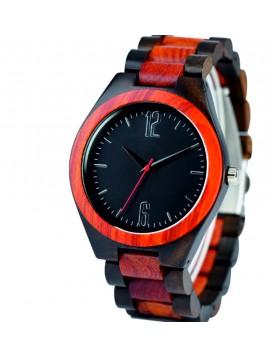 SENTOP Náramkové hodinky na ruku ze dřeva DH013-2 Dvě čísla