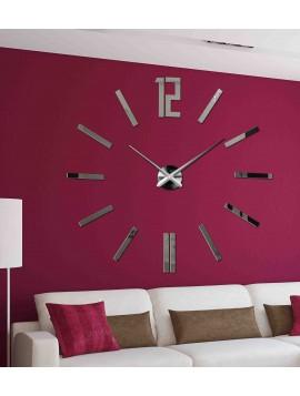Moderní 3D nástěnné hodiny do obývacího pokoje  ZAHIR