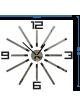 Rozměry nástěnných hodin vyrobených z plastu. Trendy hodiny jako obraz.