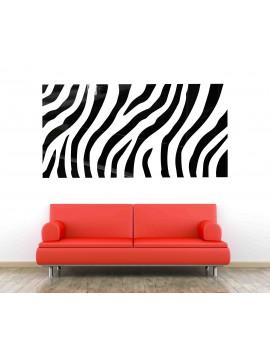 XMOMO Nálepka na zeď jako obraz OX004 červená