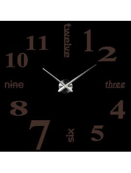 Moderní farebené nástěnné hodiny  Velká sedmička XXLL