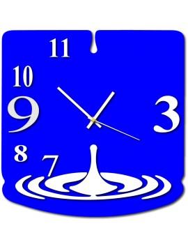 Nástěnné hodiny slza luxusní barevné TFINITY