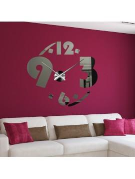 Velké nástěnné hodiny 2D SKLOPLEXI