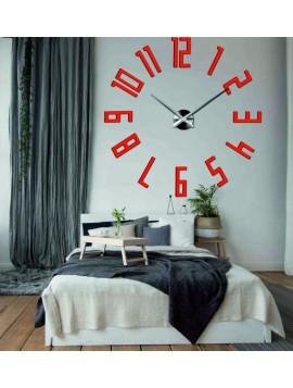 Luxusní nástěnné hodiny-Velké čísla KUCHNA 3D