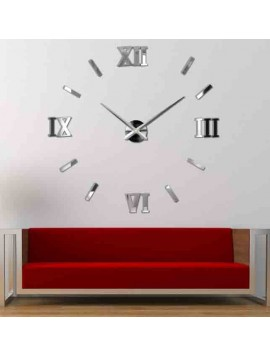 Nástěnné nalepovací hodiny rimske  Svět barev DOROTA