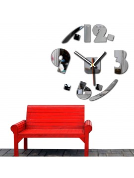 SENTOP Design nástěnné hodiny Bona X0055 černé