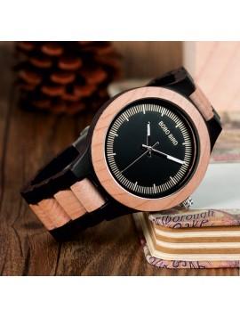 Náramkové hodinky READER vyrobené ze dřeva. Dámské a pánské hodinky.