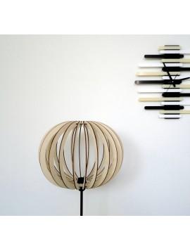 Elegantní stojatá svítidlo, barva: světlá topol  LEA
