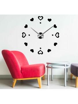 Nástěnné hodiny srdce velké DIY LENKA