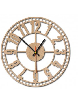 Dřevěné nástěnné hodiny KUBOTA