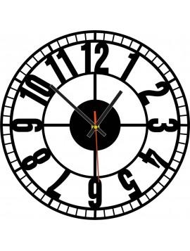 Krásné nástěnné hodiny vyrobené z plastu - Stroj času