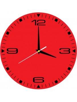 Stylové nástěnné hodiny HDF