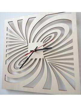 Moderní nástěnné hodiny z překližky AMORI