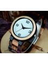 Stylové náramkové hodinky ze dřeva-GEORGIA-Yisuya