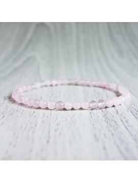 Náramek na ruku - růženín - Ø FI 4 mm