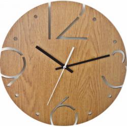 Nástěnné hodiny vyrobené z HDF - BARDOT