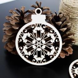 Sněhové vločky jako ozdoba na Vánoce, rozměr: 79x90 mm