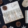 Ozdoby na vánoční stromeček, 1 sada-18 kusů