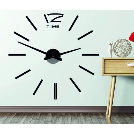 Nástěnné hodiny velké nalepovací OMEGA. plexisklo XMOMO