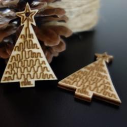 Ozdoby na vánoční stromeček, rozměr: 57x39 mm