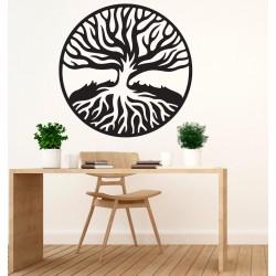 Moderní obraz z dřevěné překližky KOŘENY