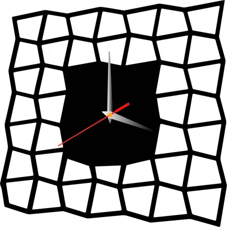 Moderní nástěnné hodiny HABAKUKY