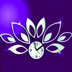 Nástěnné hodiny nalepovací na stěnu MIRKA