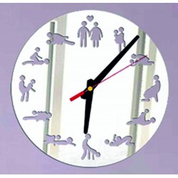 Moderní nástěnné hodiny (hodiny na stěnu) KAMASUTRA