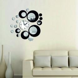 Nalepovací nástěnné hodiny (zrcadlové hodiny na stěnu) LOLITA