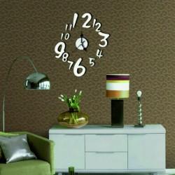 Nástěnné hodiny čísla (zrcadlové hodiny na stěnu) Holand