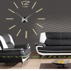 Moderní hodiny na stěnu nalepovací nástěnné hodiny dvanáct DIY JUBINALE