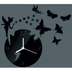 Moderní nástěnné hodiny do obýváku, 30x30 cm