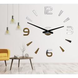Moderní nástěnné hodiny nalepovací Stor 2D plexi