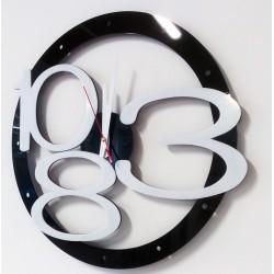 X-momo Moderní nástěnné hodiny na zeď  X00013 LUXUS aj  bílé