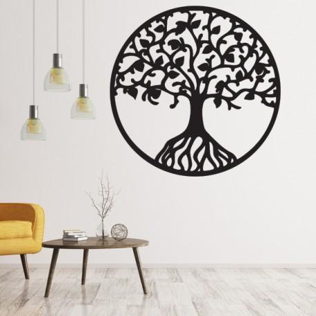 Dřevěný obraz na stěnu z překližky strom života HABULKOVO