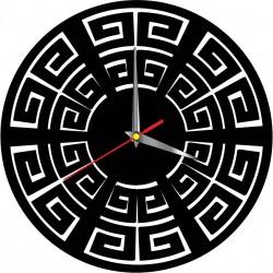 Nástěnné hodiny moderní BOHYNĚ GREKA