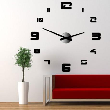 Nástěnné hodiny nalepovací velké plexi DIY STRONG