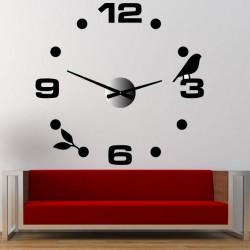 Nástěnné hodiny nalepovací DIY Pohoda