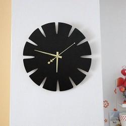 Dřevěné nástěnné hodiny z HDF SPECTRA