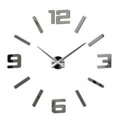 Nástěnné hodiny zrcadlové velká čísla DIY ORFEO
