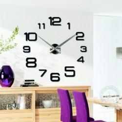 Nástěnné hodiny velké design hodiny DIY KULFOLD