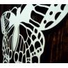 XLL 1100 X 647 mm Noční motýl vyřezávaný z dřevěné překližky LEOPARTID