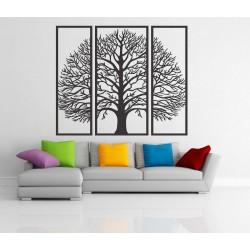 Dřevěný obraz na stěnu z překližky strom klidu HKFIBIS